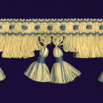 Fringe with tassels